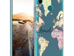 KW Θήκη Σιλικόνης Huawei Y9 2019 - Black / Multicolor / Transparent (50360.02)