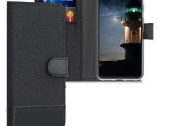 KW Θήκη Πορτοφόλι Google Pixel 4 - Anthracite / Black (50375.73)