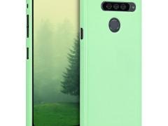KW Θήκη Σιλικόνης LG G8s ThinQ - Mint Matte (48068.50)