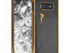 KW Θήκη Σιλικόνης Samsung Galaxy S10e - Gold / Transparent (47943.01)