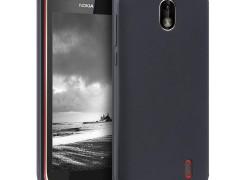 KW Θήκη Σιλικόνης Nokia 1 - Black Matte (44507.47)