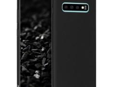 KW Θήκη Σιλικόνης Samsung Galaxy S10 Plus - Black Matte (47455.47)