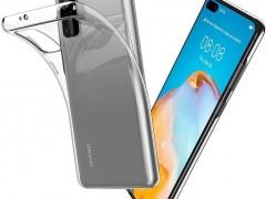 Tech-Protect Θήκη Σιλικόνης FlexAir Huawei P40 - Crystal (64607)