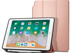 Θήκη Spigen Smart Fold 2 With Pencil Holder Case iPad 9.7'' 2017/2018 - Rose Gold (053CS23992)