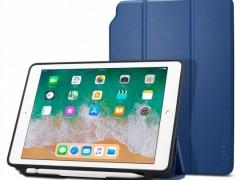 Θήκη Spigen Smart Fold 2 With Pencil Holder Case iPad 9.7'' 2017/2018 - Blue (053CS23994)