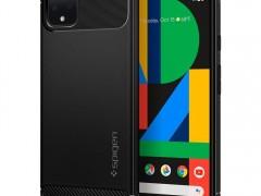 Spigen Θήκη Rugged Armor Google Pixel 4 - Black Matte (F26CS27575)