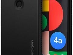 Spigen Θήκη Rugged Armor Google Pixel 4a 5G - Matte Black (ACS01885)