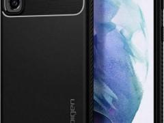 Spigen Θήκη Rugged Armor Samsung Galaxy S21 5G - Matte Black (ACS02421)