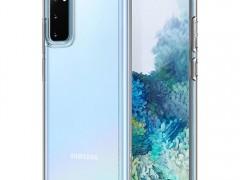 Spigen Θήκη Ultra Hybrid Samsung Galaxy S20 - Crystal Clear (ACS00792)