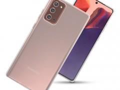 Terrapin Θήκη Σιλικόνης Samsung Galaxy Note 20 - Clear (118-002-856)