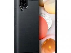 Terrapin Θήκη Σιλικόνης Carbon Fibre Samsung Galaxy A42 - Black (118-002-862)