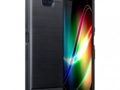 Terrapin Θήκη Σιλικόνης Carbon Fibre Design Sony Xperia 10 Plus - Black (118-005-496)