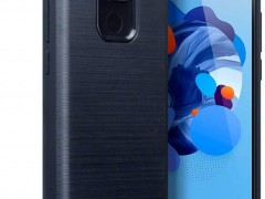Terrapin Θήκη Σιλικόνης Carbon Fibre Huawei Mate 30 Lite - Blue (118-083-213)
