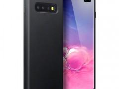 Terrapin Θήκη Σιλικόνης Samsung Galaxy S10 Plus - Black Matte (118-002-746)