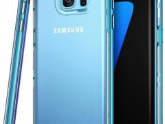 Ringke (Frame) Θήκη Σιλικόνης Samsung Galaxy S7 Edge με PC Bumper (9318) - Ocean Blue