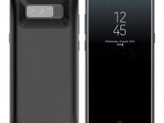 Θήκη με Ενσωματωμένη Μπαταρία 5500mAh Samsung Galaxy Note 8 - Fast Charge - Black (13994) - OEM