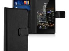 KW Θήκη - Πορτοφόλι Sony Xperia M5 - Black (37550.01)
